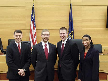 From left: Nick Standiford, Blake Nichols, Jon Trevarthen, and Carmen Dorris