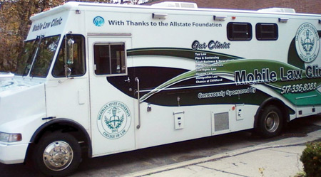 MSU Law mobile clinic