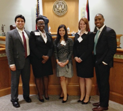 Mock Trial Team Wins Second Place